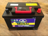 Munac Black DIN75mf 12V75ah Maintenance Free Auto Battery