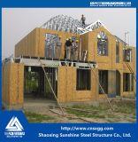 Горячая гальванизированная дом Prefab пола стальной структуры 2