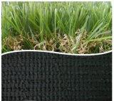 Gazon synthétique décoratif d'herbe pour le jardin commercial aménageant l'herbe en parc