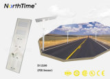 Brilho de alta eficiência Todos inteligente design multifuncional Rua Solar Luz de LED