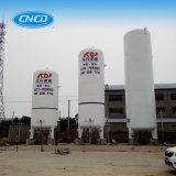 液体酸素か窒素またはArgon/LNGの極低温記憶装置タンク