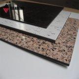 Comitato composito di alluminio di sembrare della pietra del PE o di PVDF di Ideabond (AE-504)