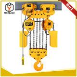 Hijstoestel van de Keten van 7.5 Ton het Elektrische met het Type van Opschorting van de Haak (HHBB7.5-03SS)