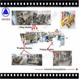 Swfg-590 secan la maquinaria de pesaje de las pastas de los tallarines y de pila de discos automática