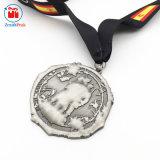 Più nuovo metallo del ricordo che timbra onore della medaglia delle insegne