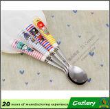 Cuchillos de cerámica Cuchara de cerámica Cuchillos de tenedor Set de cuchillería
