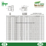 mâle de 4c/4D Metirc 24 adaptateurs de tube hydrauliques de fiche de cône de degré