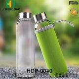 卸し売りBPAは放す550mlガラス水差し、カスタマイズされたガラス水差し(HDP-0040)を
