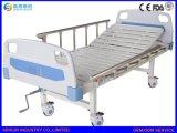 병원 가구 호화스러운 수동 단 하나 기능 조정가능한 의학 간호 침대