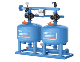 Sistema di filtrazione di media della sabbia/distributore & collettore automatici dell'acqua