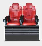 ダイナミックな動きのシミュレーター4D 5Dの乗車の映画フィルムの小型7D映画館2seats
