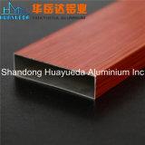 El aluminio modificado para requisitos particulares sacó perfil Grian de madera acabado