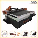 Cnc-vibrierende Messer-Fußbekleidung-Ausschnitt-Maschine Dieless kein Laser 1214