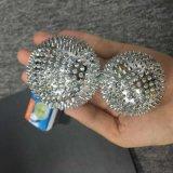 Billes en épi de massage d'acuponcture magnétique de billes avec la couleur argentée 5.6 cm