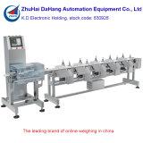 Máquina de classificador de peso personalizada para peixes, frutos do mar e aves de capoeira