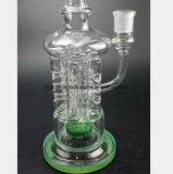 filtre de réutilisation en verre de canon d'éclat en verre 13.38-Inch