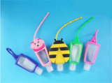 29 ml Portable Design 3D Animal Silicone Hand Sanitizer Porte-bouteille