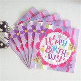 2016 más calientes de servilletas de papel decorativo fiesta de cumpleaños
