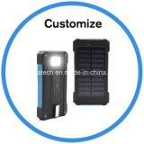 Cargador solar con luz LED