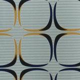 Nuevo papel de empapelar azul moderno del PVC de Wallcovering del diseño 2016 3D