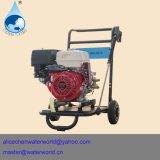 Hochdruckgas-Unterlegscheibe mit Gefäß und Hochdruckpumpe
