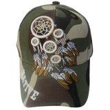Горячая бейсбольная кепка Camo сбывания с 3D логосом 13613