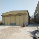 가벼운 강철 건축 조립식 가옥은 모듈 강철 프레임 구조 작업장을 디자인했다
