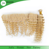 Cheveux humains de Vierge péruvienne profonde populaire d'onde d'Aofa de blonde de miel 613