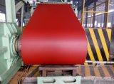 El color de la bobina de acero galvanizado recubierto con película de PVC PPGI/.