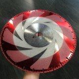 Hoja de sierra Electroplated de alta calidad para el vidrio, piedra de corte afiladas