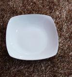 Хорошее качество керамической посуды ужин квадратных салат пластину