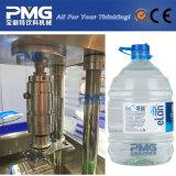 De tipo lineal de la máquina de llenado de agua de botella de 5 litros