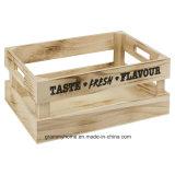 يحمل مجموعة من 3 غلّة كرم خشبيّة [ستورج بوإكس] صندوق شحن مقبض ثمرة [فغ] مطبخ منزل
