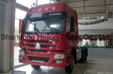 Vrachtwagen van Tractor 4 van de Dieselmotor van Sinotruk HOWO 6X4 de Euro Op zwaar werk berekende