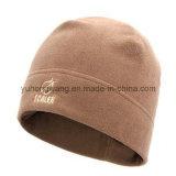 Sombrero/casquillo polares hechos punto calientes modificados para requisitos particulares del paño grueso y suave del invierno