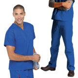 Il medico professione d'infermiera frega le uniformi naturali dell'insieme completo unisex per le donne degli uomini nuove