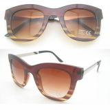 Klassische Form-Entwurfs-Frauen-Sonnenbrillen