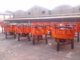 Aufbau-Maschinen-Wannen-Betonmischer verwendet für Block-Maschine in Kenia