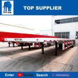Flaches Bett-Schlussteil-LKWas des Titan-Fahrzeug-60ton für Verkauf