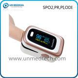 Oxímetro de pulso de novo dedo com 4 paras: SpO2, Pr, Pi, Odi