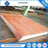 PE/PVDFの建築材料のための大理石模様をつける製造所によって終えられるカラーによって塗られるアルミニウム屋根ふきのシートかコイル