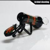 Tubulação fundida colorida da alta qualidade da arte das tubulações de fumo mão de vidro