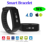 Bluetooth intelligentes Armband mit wasserdichtem IP66 (W6)