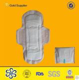 Commerce de gros de l'hygiène féminine de coton des serviettes hygiéniques jetables