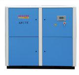 Sfc compresor refrescado aire inmóvil del tornillo de agosto de 75 kw/100HP agosto