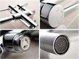 Grifo de la tina de baño del cuarto de baño del soporte del suelo de Cupc con la ducha de la mano (AF9112-2)