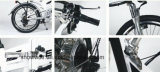 Bici piegata elettrica della batteria di velocità della lega 7 della bicicletta