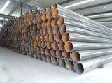 API 5L/ASTM A53/JIS A5525 SKK490 Caissons/Tuyaux en acier au carbone HFW