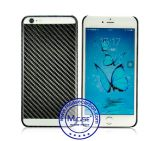 Alta calidad caja del teléfono de China de fábrica de fibra de carbono para el iPhone 6s Plus