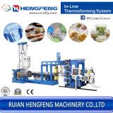 Inline PP Fiche PS extrusion plastique automatique de la machine (l'extrudeuse HFSJ100/33-700B)